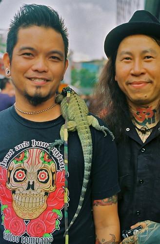 tattoo. teddy ska. thailand