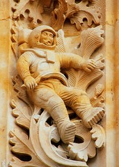 Astronaut (ribizlifozelek) Tags: church spain cathedral catedral astronaut salamanca astronauta