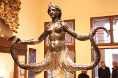 Siren (BrassIvyDesigns) Tags: bronze italian octopus crown mermaid siren metropolitanmuseum