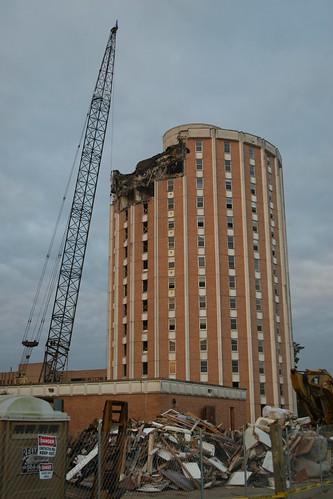 demolition of garner begins