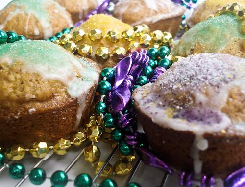 kingcake cupcakes