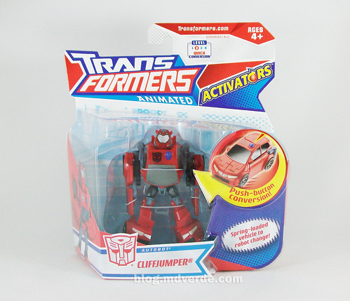 Transformers Cliffjumper Animated Activator - caja