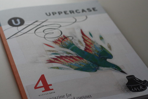 UPPERCASE Winter 2010 Issue