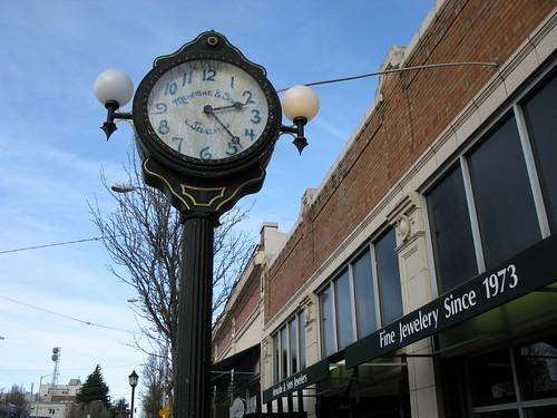 Menashe Fine Jewelry Clock