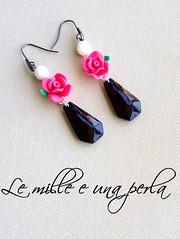 Rugiada serale (lemilleeunaperla) Tags: bijoux orecchini bigiotteria lemilleeunaperla