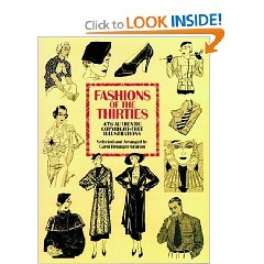 Fashions of the Thirties 476 Authentic Copyright Free Illustrations