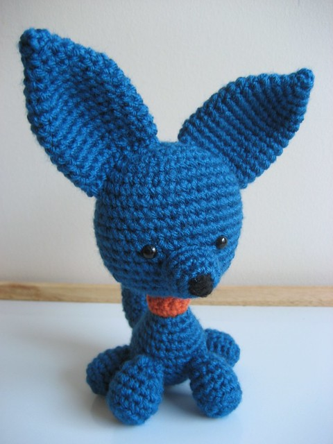 Amigurumi Perky Puppy Free Crochet Patterns