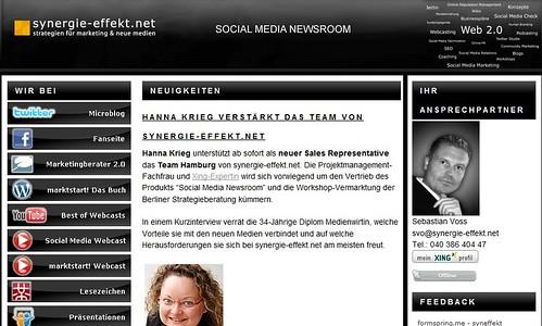 synergie-effekt.net - Social Media Newsroom