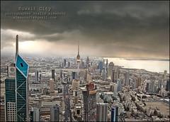 Tornado over Kuwait City! (khalid almasoud) Tags: city weather cl