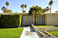 Mid-Century Modern House (Chimay Bleue) Tags: ranch house home modern club south country modernism canyon palm springs atomic midcentury