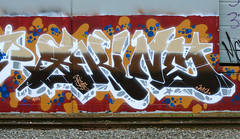 Skine (funkandjazz) Tags: california graffiti eastbay jurne skine