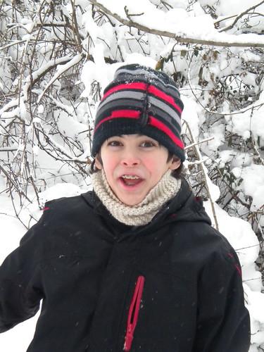 Tristyn in Snow