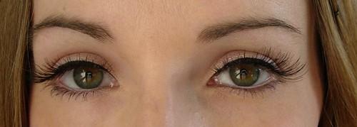 Girls Aloud / Eyelure lashes: Nicola