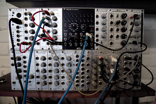 my modular synthesizer, all growed up