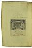 Front pastedown from Statius, Publius Papinius: Opera