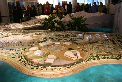 giant model of Sochi's Olympic venues