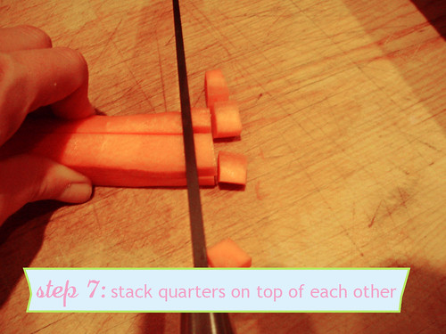 How to Chop Carrots - step 7