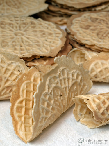 P is for Pizzelles