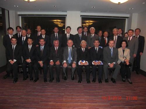 「日本スロヴェニアビジネス協会」発足記念ディナー