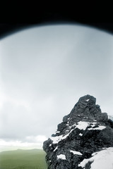 pinhole 446, the sky was closing in... it's time to go (kudaphoto) Tags: winter mountains 120 oregon photography pinhole fujifilm pinholecamera pinholephotography primitivism modernprimitivism