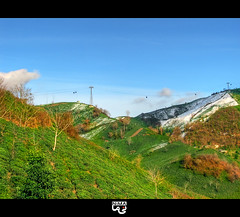 (N.i.M.A) Tags: trees mountains green colorful iran tea bluesky cablecar  soe gilan    guilan lahijan   coth  lahidjan gondolalift   diamondclassphotographer flickrdiamond theunforgettablepictures