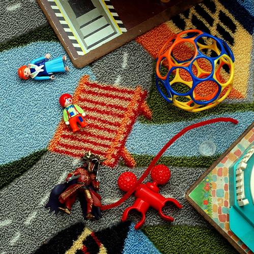 current denizens of the playzone floor