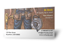 Contractor business cards a photo on flickriver contractor business cards reheart Image collections