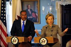 Secretary Clinton Meets With Qatar Foreign Minister (U.S. Department of State) Tags: clinton bin hillary hamad sheikh qatar rodham jassim jabr althani