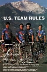 USA-team-lance (stonejf) Tags: barcelona road usa bike bicycle vintage cycling lance olympics armstrong 90s hincapie julich