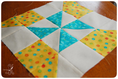 Pinwheel Quilt Block 2