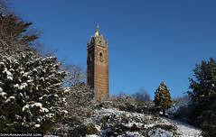 Snowy Cabot Tower-6-46 (Paul Williams www.IronAmmonitePhotography.com) Tags: snow bristol cabottower brandonhill
