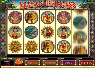 Mayan Princess slot game online review