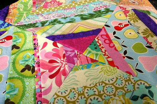Carnival String Quilt - detail