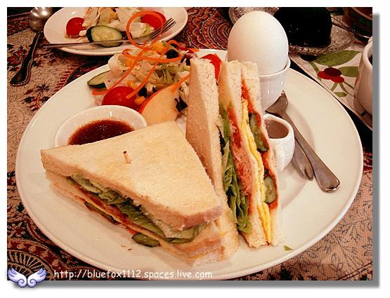 100219-1巴登咖啡08_鮪魚三明治套餐