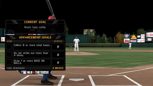 MLB 10: The Show RTTS Advancement Goals