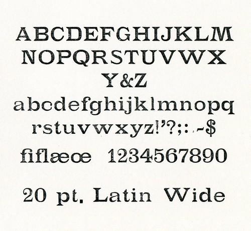 LatinWide20pt