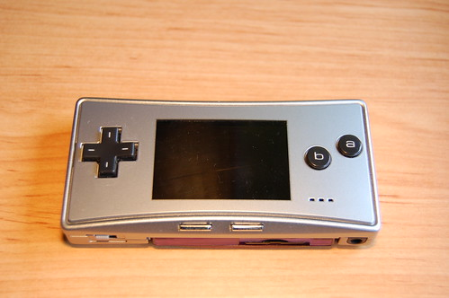 Gameboy Advance micro