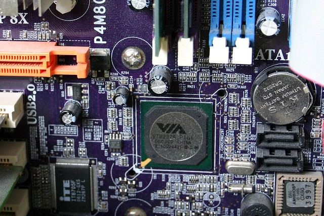 Here comes the motherboard I