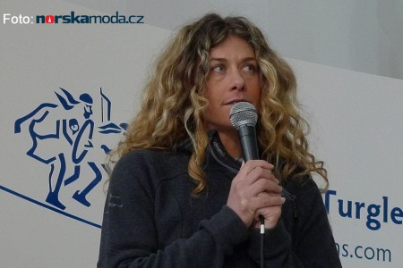 Cecilie Skog přešla Antarktidu