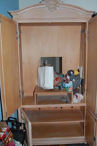 Craft Storage Armoire