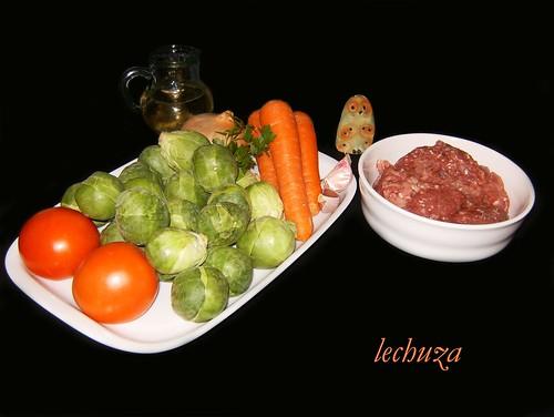 Albóndigas de coles-ingrs.
