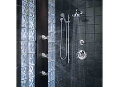 Euro Medium Flow Custom Shower Collection (brizofaucet) Tags: stilllife shower photo riviera euro trevi loki faucet quiessence brizo customshower mediumflow trevilever trevicross