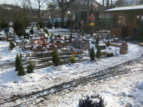 Schnee en miniature