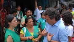 Con la guardia indigena (2) (Sergio Fajardo Valderrama) Tags: en sergio cali fajardo