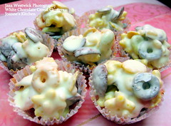 White Chocolate Cereal Clusters (Sparkling Jazz) Tags: chocolates cereals joanneskitchen