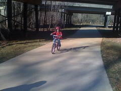 Isabel on the Greenway