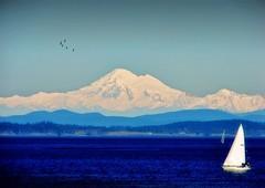 Mount Baker .. view from Oak Bay