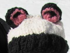 Brenna's Panda Hat