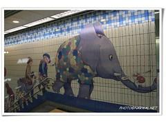 (Narwal) Tags: china city art public artwork mural metro taipei  trtc   republicofchina