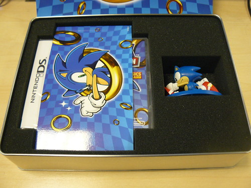 Sonic Classic Collection - Aus/Spain Boxset Tin Interior